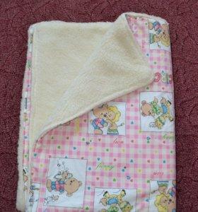 Одеяло на овчине 100×140