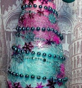 Новогодние елочки и елочка-топотушка