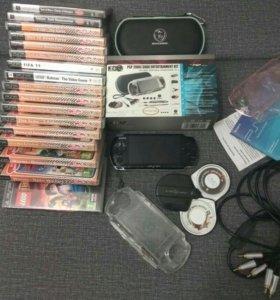 Sony PSP 3008 black с WiFi