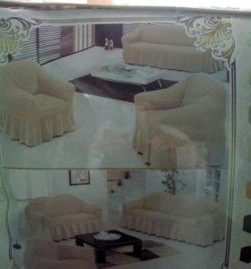 Комплект покрывал для мягкой мебели
