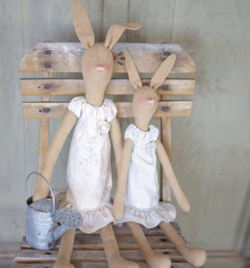 Набор для шитья кроликов Тильда