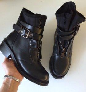 Ботинки с молнией  Balmain. (36-40)