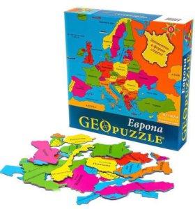 Геопазл Европа