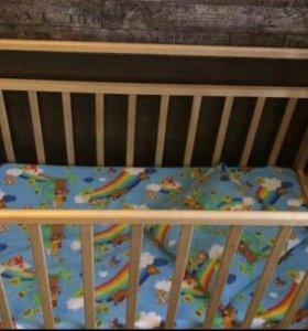 Кровать маятник детская