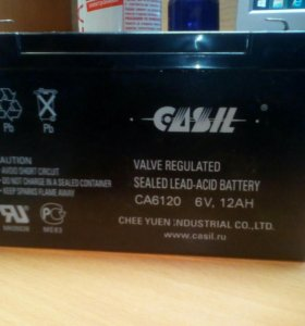 Аккумулятор 6v12ah