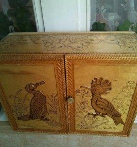 Шкафчик деревянный