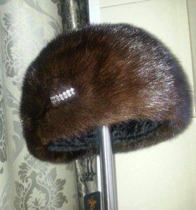 Продаю новую норковую шапку.