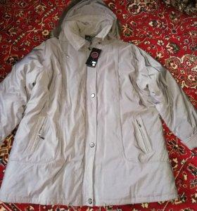 Куртка женская зимняя размер 68-70