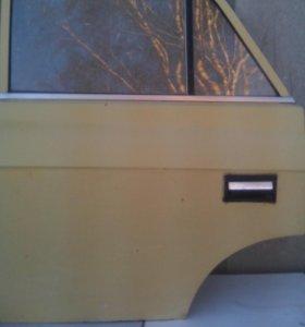 """Дверь задняя левая """"Москвич - 412""""/в сборе/."""