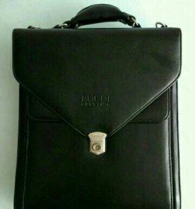 Кожаная сумка/портфель/планшет