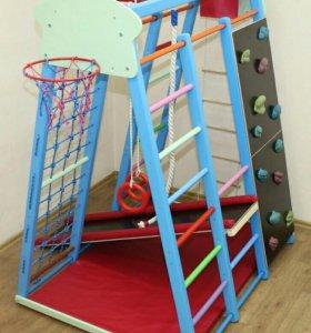 Детский Спорткомплекс ДСК Баскет-8 со скалодромом