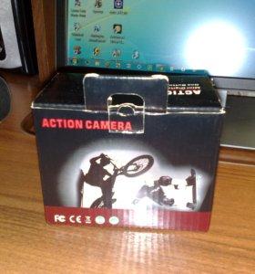 Налобная видеокамера