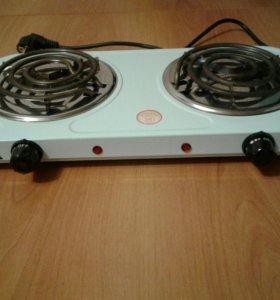 Плитка электрическая 2-конфорочная