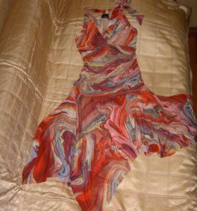 Платье-сарафан,яркое