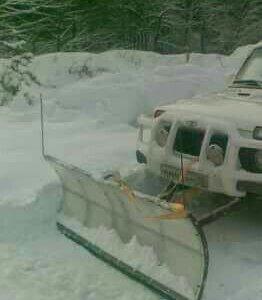 Снеговой отвал для нивы
