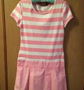 Розовое платье!