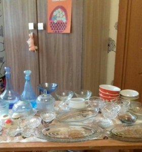 Советская посуда