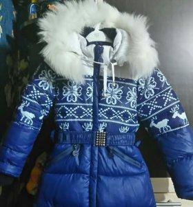 Зимнее пальто 116 рост