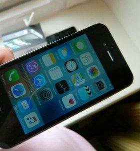Новый iPhone 4s чёрный , 32GB оригинал