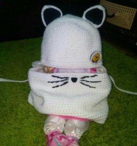 Детские шапочки на ребенка с 2-3 лет