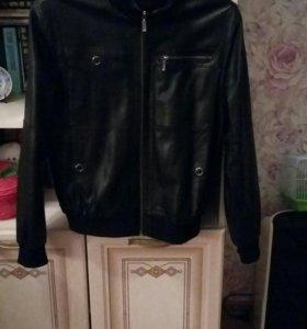 Кожанная куртка (новая, настоящая кожа)