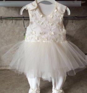 Платье комбинезон для девочек
