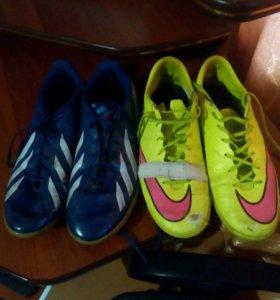 Продам футбольные кросовки
