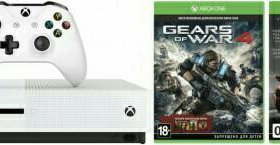 Игровая приставка Microsoft Xbox One S 500Gb НОВАЯ
