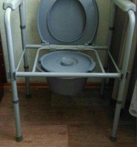 Туалет кресло для инвалидов новое