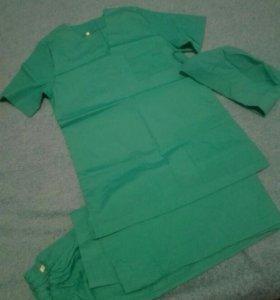Хирургический костюм женский, медицинский костюм