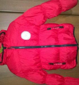 Куртка бенеттон р.122