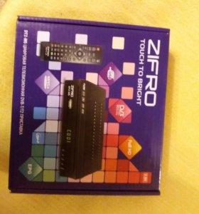 Цифровая ТВ приставка ZIFRO DT2-M5 (DVB-T/T2)