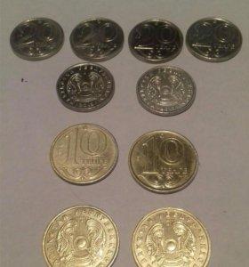 Монеты Казахстан
