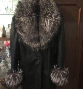 Куртка (натуральная кожа и мех)