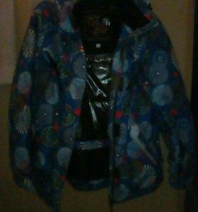 Горнолыжная куртка(р48-50)