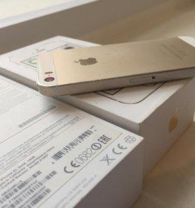 iPhone 5s 16 gb gold.