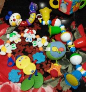 6 погремушек для малышей