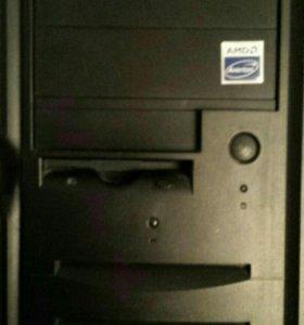 Игровой компьютер AMD II X3 420E/8GB/1050TI/250Gb