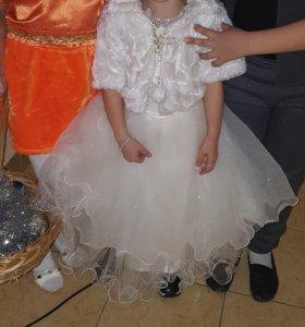 Детская новогодняя платья очень красивая