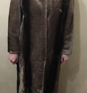 Шуба из мутона 50-52 размер