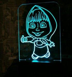 Светильник,лампа,ночник,подарок