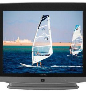 телевизор SUPRA CTV-21018 с плоским экраном 54 см