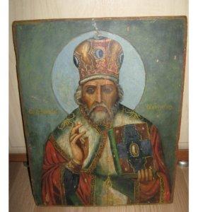 Икона. Николай Чудотворец