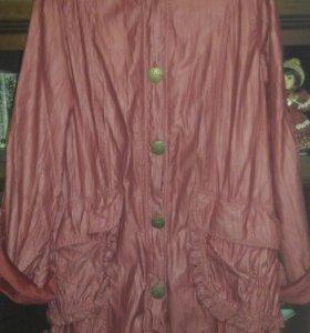 Пальто на флисе