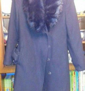 Зимнее пальто, б/у 2 раза