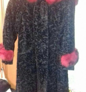 Б/у зимнее пальто