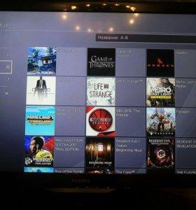 Sony Playstation 4 + 20 игры/ps4/пс4