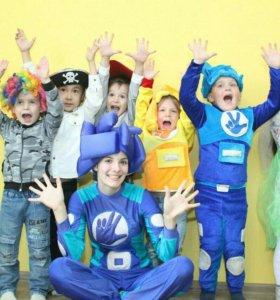 Детские праздники Шоу мыльных пузырей Аквагримм