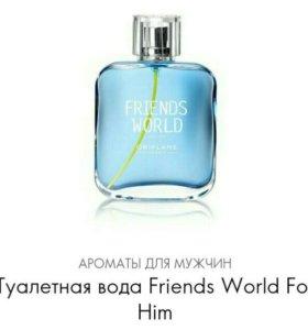 Туалетная вода Friends World Орифлейм В НАЛИЧИИ
