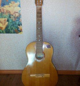 Акустическая гитара СССР